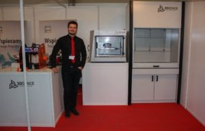 ONE, PRO shell, the new Fume Cupboard and our Chief of Purchasing Department - Krzysztof, of course