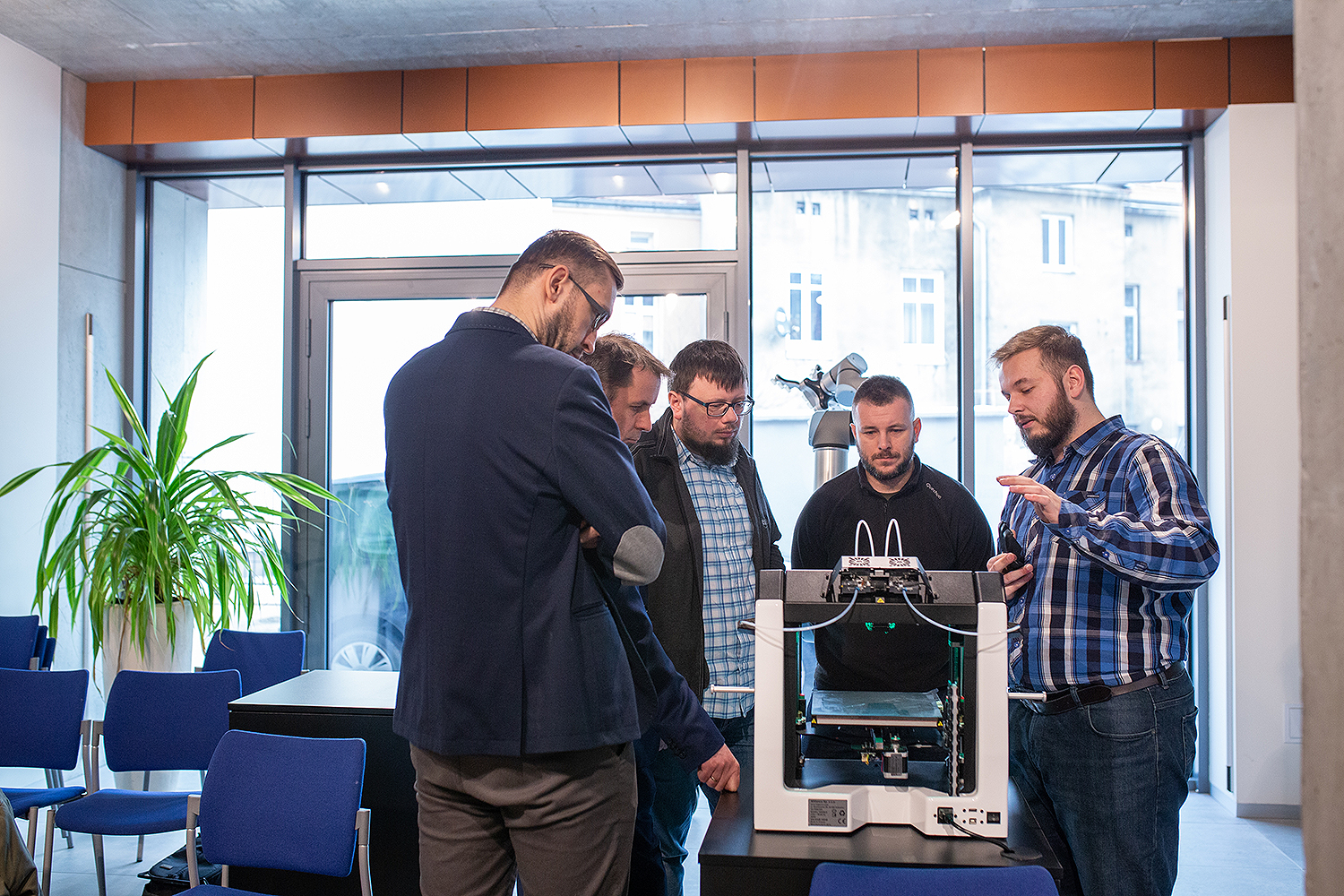 Showroom with 3D printers in Silesia. 3DGence has started cooperation with the PANOVA