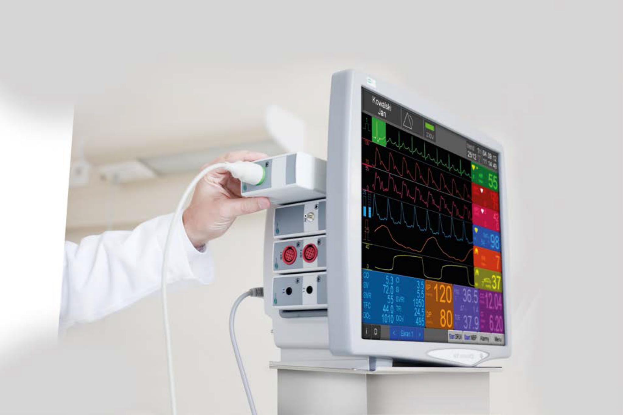 Prototyp obudowy kardiomonitora wykonano za pomocą drukarki 3DGence.